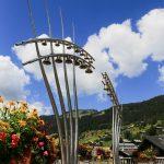 Ars Sonora Frontière dans la station-village de Châtel, Portes du Soleil